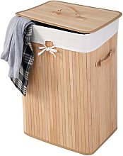 Bamboo Laundry Bin Brambly Cottage Colour: Natural