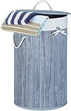 Bamboo Laundry Bin House of Hampton Colour: Light