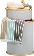 Bamboo Laundry Bin Isabelline