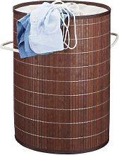 Bamboo Laundry Bin Symple Stuff Colour: Brown