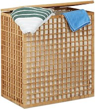 Bamboo Laundry Sorter Beachcrest Home