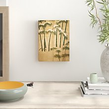 Bamboo, Momoyama Period Art Print on Canvas East
