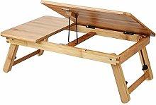 Bamboo Portable Folding Laptop Desk, Portable
