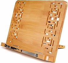Bamboo Reading Rest Cookbook Holder, Foldable