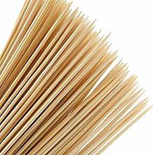 Bamboo Skewers - YOTINO 100 Pcs Natural Wooden