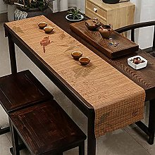 Bamboo Table Runner With Flower Bird Pattern,