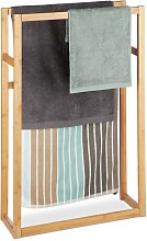 Bamboo Towel Rack, Clothes Valet Stand, Free