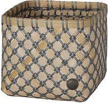 Bamboolastic Bamboo Basket Handed By Colour: Dark
