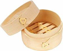 BambooMN 3 Inch Mini Bamboo Dim Sum Dumpling