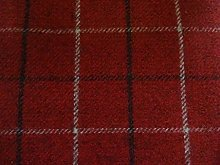 Bamburgh Porter & Stone Upholstery Fabric - Red