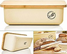 bambuswald© Bread Bin with Bamboo Lid -