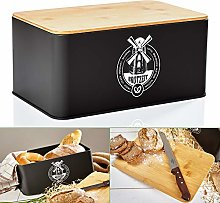 bambuswald© Bread Bin with Eco Friendly Bamboo