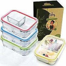 bambuswald © Set of 4 Food containers | Lunch Box