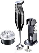 Bamix Handheld Blender with Deluxe Stand, Whisk,