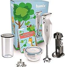 Bamix LuxuryLine White 200W Hand Blender