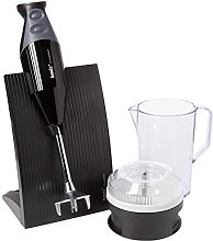 bamix Swissline Black Hand Blender Food Processor