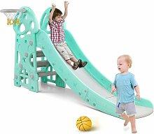 Bamny Kids Slide Outdoor Garden Children Toys for