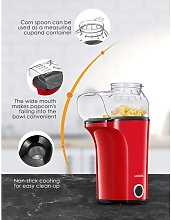 Bamny Popcorn Machine 1400 W, Hot Air Popcorn