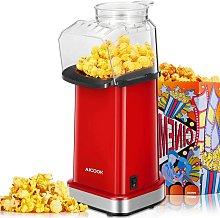 Bamny Popcorn Maker, 1400W Oil & Fat Free Popcorn