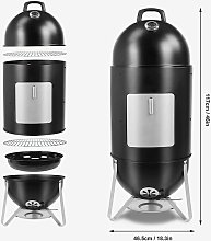 Bamny Smoker Oven, 3-in-1 BBQ Charcoal Grill with