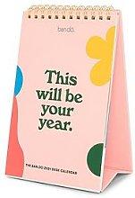 Ban.Do Best Year Ever 2021 Desk Calendar, One
