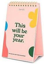 Ban.Do Best Year Ever 2021 Desk Calendar