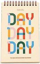 Ban.Do Desk Calendar, Day By Day