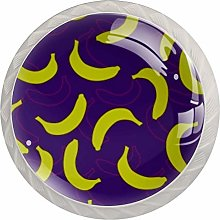 Banana Double Shadow Kitchen Cabinet Knobs Round