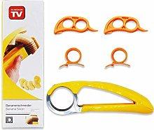 Banana Slicer, Orange Citrus Peeler, Finger Ring