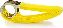 Banana Slicer Stainless Steel,QSXX 4 Pieces Salad