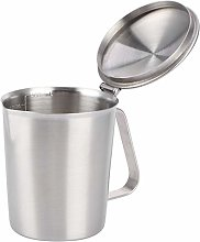 banapoy Frothing Cup, Coffee Latte Cup, Measuring