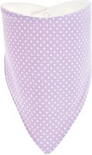 Bandana Bib KraftKids Colour: White/Purple