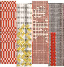 Bandas IV Orange 240 x 250cm