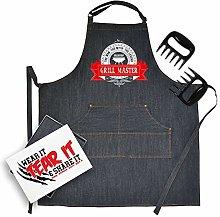 Bang Tidy Clothing Denim BBQ Apron & Meat