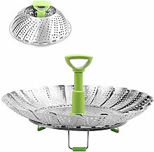 BangShou Food Steamer Basket Stainless Steel