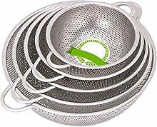 BANGSUN Colander Set Stainless Steel Metal With