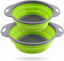 BANGSUN Collapsible Colander Quart Over The Sink