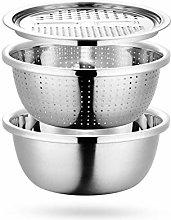 BANGSUN Stainless Steel Drain Basket 3 In 1