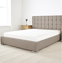 Banks Upholstered Bed Frame Canora Grey Size:
