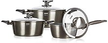 Banquet Cookware Set with Non-Stick Coating, Metal
