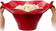 bansd Silicone Microwave Popcorn Maker Popcorn