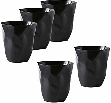 Baoblaze 5pcs Mini Trash Can Dust Bin Dustbin
