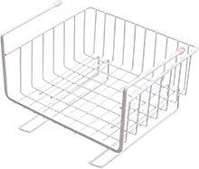 Baoblaze Cabinet Hanging Basket Rack Cupboard