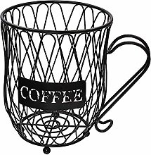 Baoblaze Coffee Storage Carousel Holder Organizer