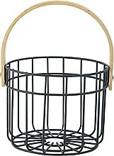 Baoblaze Kitchen Storage Metal Wire Egg Basket