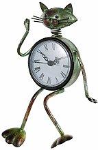 Baoblaze Small Desk Clock Handmade Vintage