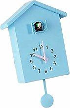 Baoblaze Wall Clock Bedside Clock Cuckoo Telling