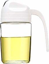 Baomasir Oil Dispenser, Auto Flip Olive Oil Glass