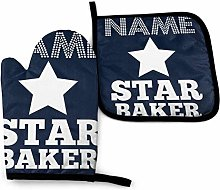 baowen Personalised Star Baker -Oven Mitts and Pot
