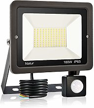 bapro 100W Security Lights with Motion Sensor,Led